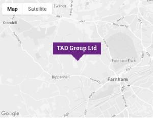 TAD Group Ltd map